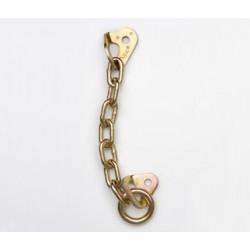Reunión rapel zincada con anilla Fixe