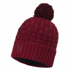 Knitted & Polar Hat Buff Airon Wine